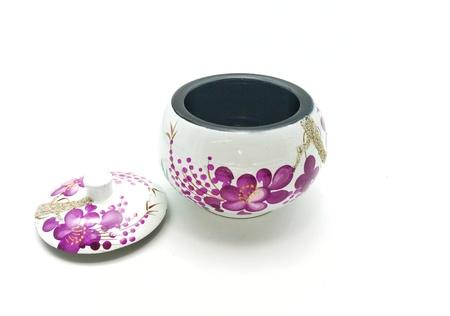 Canister: porcelain canister