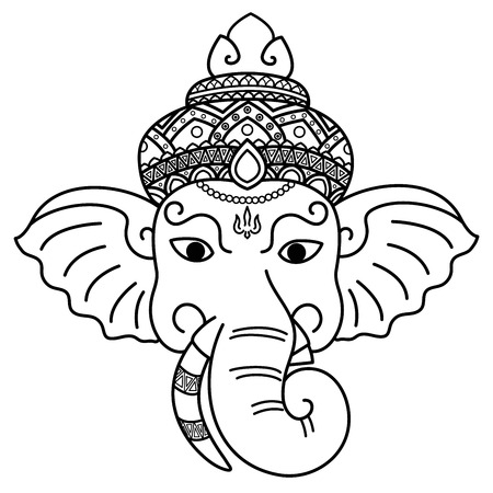 Ganesha is a god of wisdom.