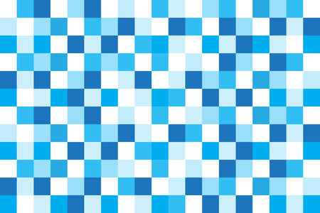 Blue square abstract background vector design.