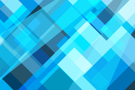 Geometric blue abstract background. Illustration