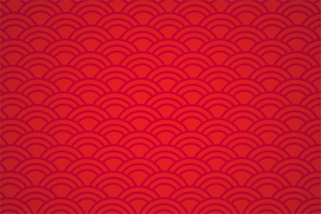 Asian style red abstract background .