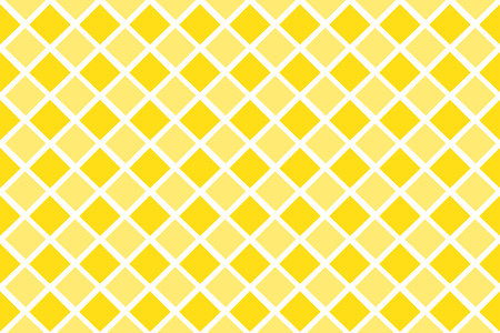 Yellow geometric shape vector abstract pattern design. Illustration