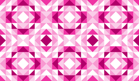 Pink geometric abstract pattern vector background design. 向量圖像