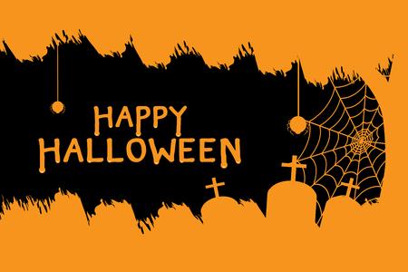 Happy halloween day Ilustrace