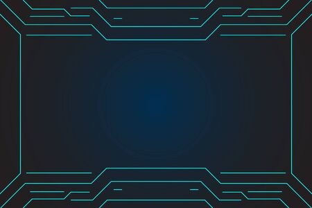 abstract technology future interface hud vector design for business.