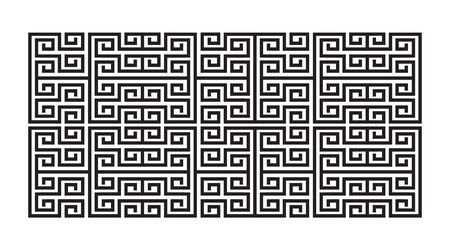 abstract pattern maze vector design