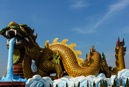 The Chinese dragon photo