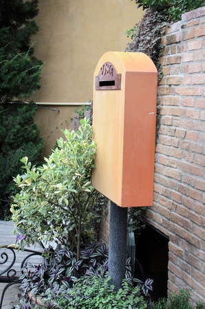 letterbox: letterbox in outdoor