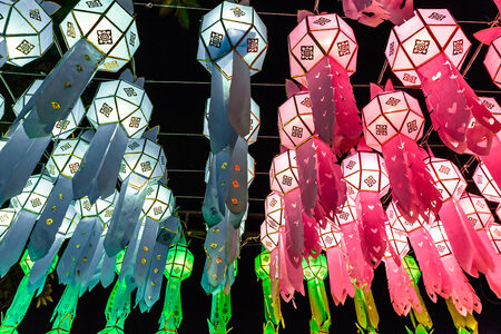 Thailand  Decoration  Loykratong  festival photo