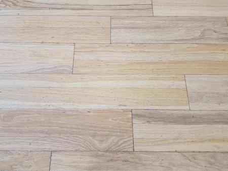 光の茶色の木の床 写真素材