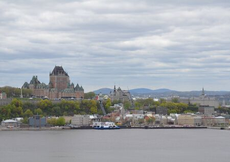 buildings and structures with river water in Quebec, Canada