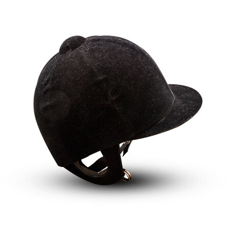 Jockey black helmet