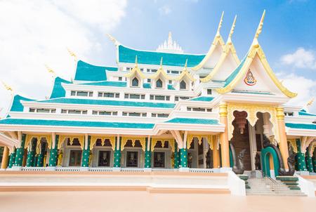 thani: Thai temple udon thani Stock Photo