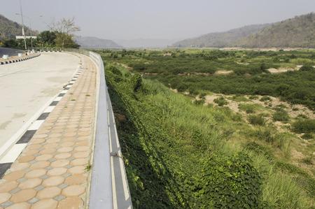 mekong: Bridge mekong river view