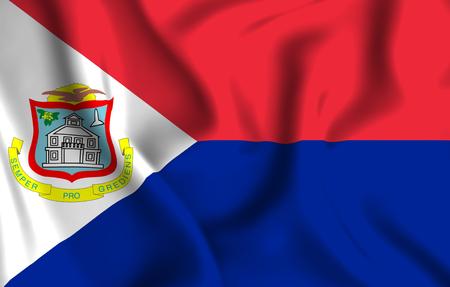 Sint Maarten Flag Stock Photos And Images 123rf