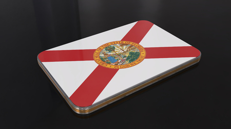 Florida Flag button series of the Unites States