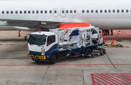 refueling: Refueling of the aircraft at the airport.