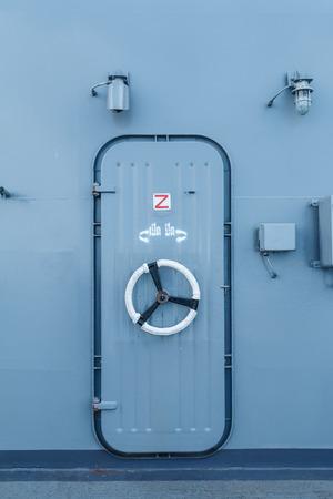 aircraft carrier: Door aircraft carrier HTMS Chakri Naruebet.