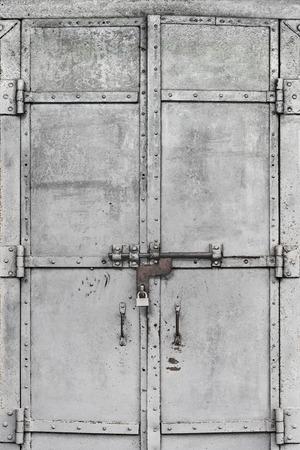 grungy: Grungy metal door, Yangon, Myanmar