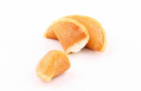 qatayef Ramadan Traditional Sweets cheese isolated on white background