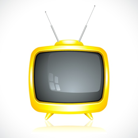 vintage television: Television