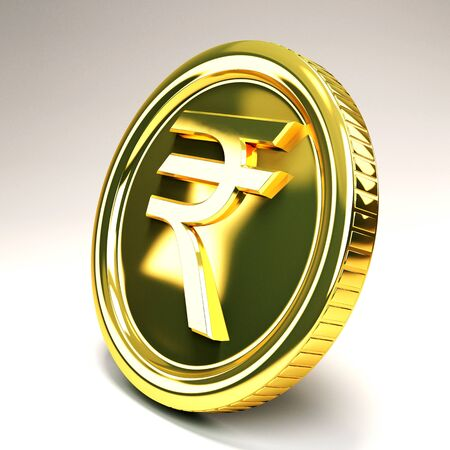 currency symbols: Rupee Gold Coin