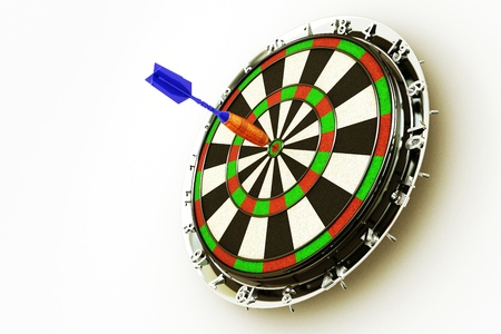3d Dart Board Stock Photo - 12914344