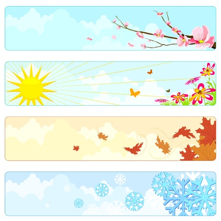 Four Season Stock Vector - 12997889