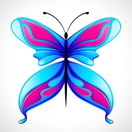Colorful Butterfly Stock Vector - 12997503