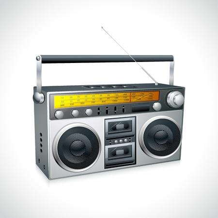 Vintage Radio Stock Vector - 12997948