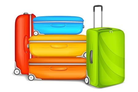 suitcase packing: Travel Bag Illustration