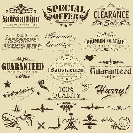 Vintage Premium Qaulity Label Stock Vector - 12997837