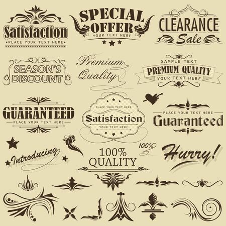 Vintage Premium Qaulity Label Stock Vector - 12997837