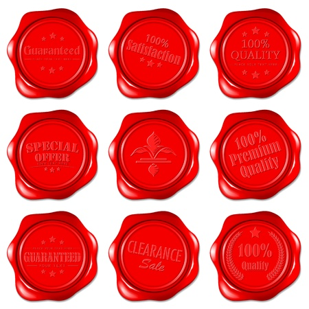 certificated: Wax Seal Selling Icon