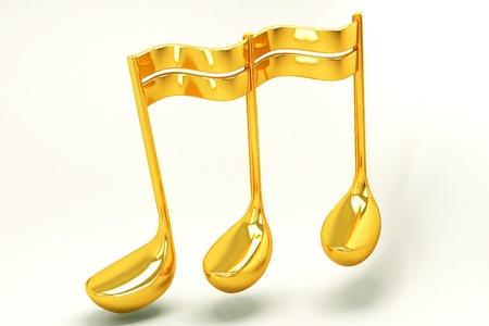clave de fa: Música Nota