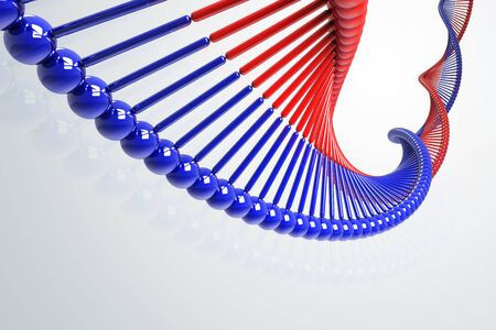 DNA Strand Stock Photo - 12999877