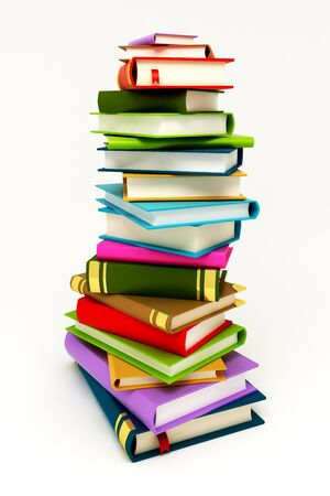Pile of Book Stock Photo - 12999822