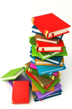 Pile of Book Stock Photo - 12999874