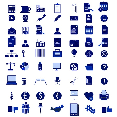fax: Office Icon Set