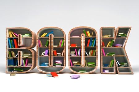 novel: Book Shelve