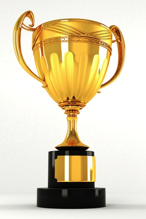 Gold Trophy Stock Photo - 13246404