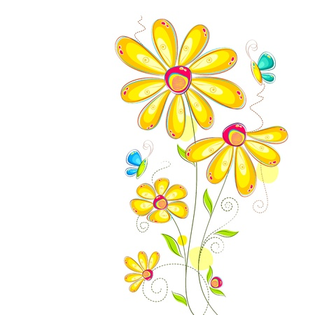 daisy flower: Colorful Flower