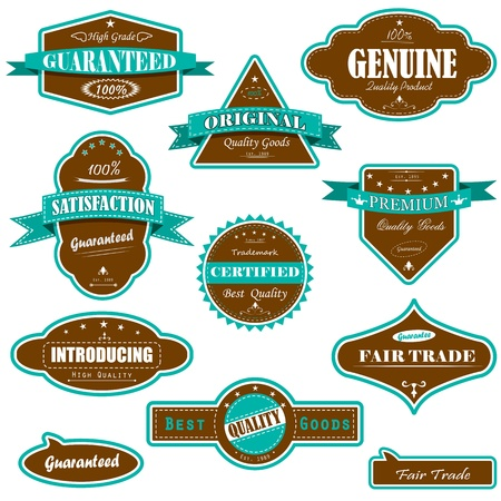 Premium Quality Tag Stock Vector - 13246364