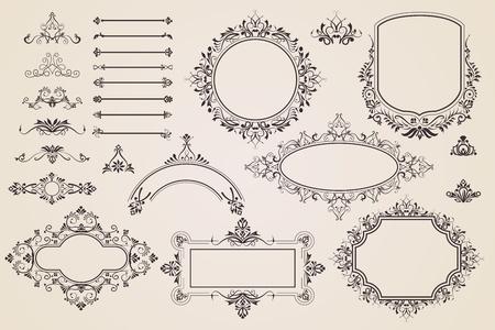 Vector Calligraphic Design Vector