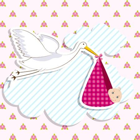 new arrival: Baby Arrival Card
