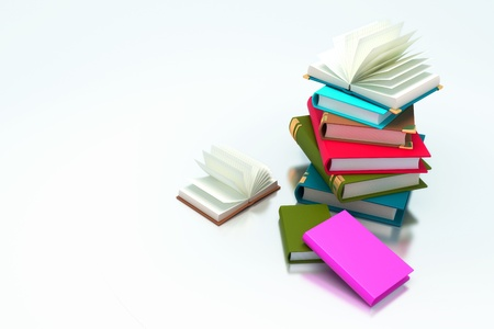 Pile of Book Stock Photo - 13405671