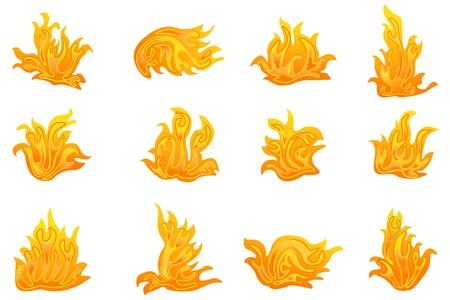 Vector Fire Symbol Vector