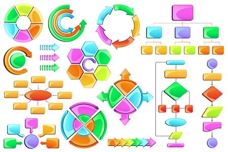 workflow: Diagramme Illustration