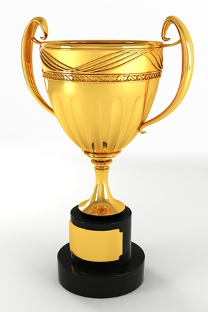 Gold Trophy Stock Photo - 13533435