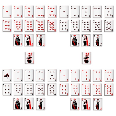 playing card: Vector Playing Card Illustration